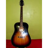 Guitarra Acústica Folk EpiPhone Con Forro Dr-100vs Rematando