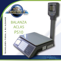 Balanza Electronica Aclas Ps10