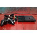 Play Station 2 + 1 Control Y Juegos