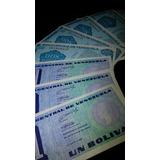 (8) Billetes Tinoquitos 1989 Unc Sin Circular.leer Descrip