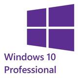 Licencia Windows 10 Pro 32-64 Bits Original Oem Product Key