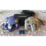 Nintendo 64 + Memoria Y 7  Juegos Leaaa Descripcion