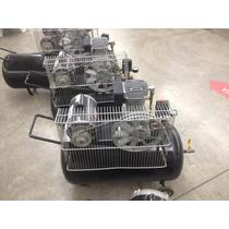 Compresor De Aire 2 Hp, Tanque 80 Litros Motor Us Motors .