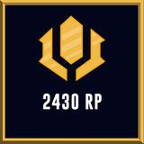 Riot Points - League Of Legends - Lol - (2430 Rp)