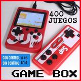 Nintendo Juego Consola Game Box Sup 400 Juegos Retro Control