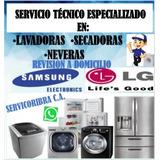 Servicio Técnico Lavadora LG Samsung Nevera Secadora