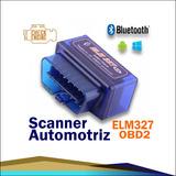 Scanner Elm327 Automotriz Bluetooth Obdii Obd2 + Cd