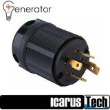 Enchufe Conector L14-30 120/240v Para Plantas Electricas