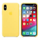 Forro iPhone 6/7 8 X Xs Xsmax Xr Silicon Apple Original
