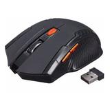 Mouse Inalambrico Gamer Pro Optico 2100dpi Usb 6 Botones