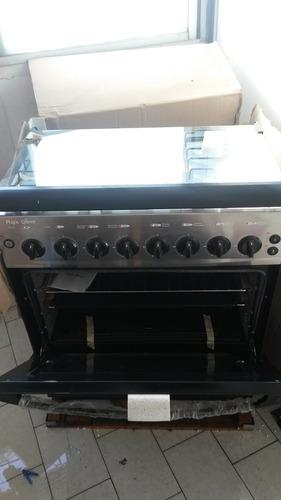 Cocina magic queen 6 hornillas horno gratinador nueva for Cocinas a gas nuevas