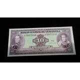 Billete 10 Bolivares 1990 Serial K Y J. Unc Consecutivos.