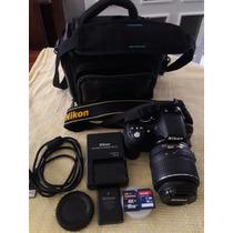 Cámara Digital Nikon D3100 Con Lente Zoom Nikon 18-55 Mm
