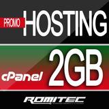 Hosting Hospedaje Cpanel + Dominio 2 Gb  Mensual