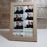 10 Portaretratos Foto Postal Sin Pintar Y Obsequio Adornos