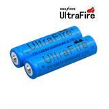 Bateria Pila Ultrafire 18650 6000mah Recargable (por Unidad)