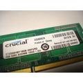 Se Subasta Memoria Ram Crucial Ddr3 2gb Para Laptop