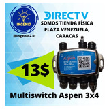Multiswitch 3x4 (13verd) Eagle Aspen De Direc-tv