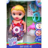 Muñeca Baby Alive Habla Llora Bebe Querido Juguetes Niña