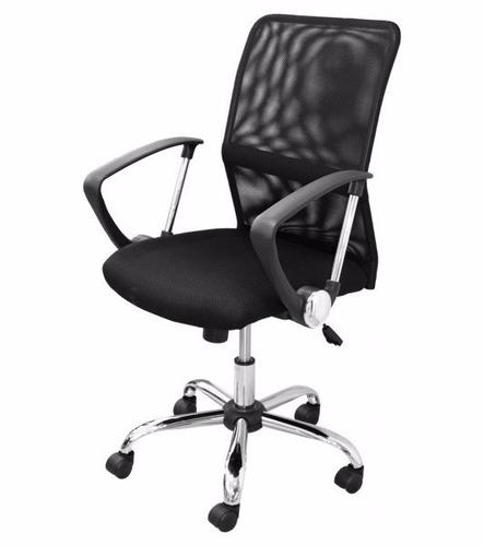 Silla ejecutiva ergonomica chicago florentina negra bs f for Silla ejecutiva ergonomica