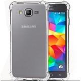 Estuche Samsung J2 Prime Transparente Esquinas Reforzadas