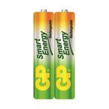 Baterias Recargables Aaa Gp Smart 400mah Pack 2