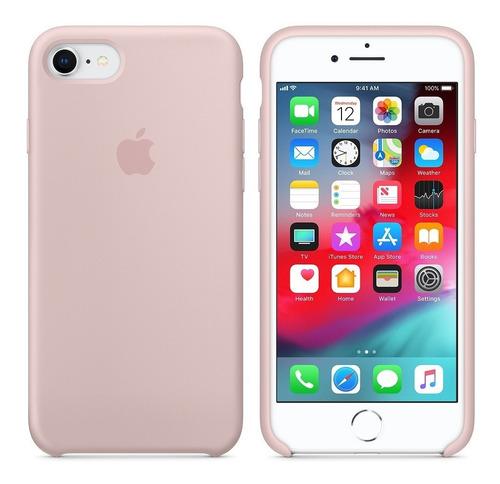 57e6786395c Forro Case Estuche iPhone 6 6g 6s Rosado Original Tienda