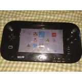 Nintendo Wii U Negro 20gb. Chipeado Con Juegos. Y Gamepad