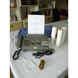 Teléfono - Fax Panasonic Kx-f580  + 3 Rollos De Papel 30d