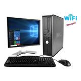 Computador Dell Core 2 Duo  Mem 4gb  Disco 250gb  Monitor 19