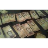 Billetes D Coleccion De 100 Bolivares Fuertes Seriales Todos