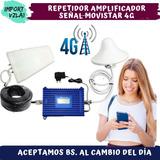 Amplificador Señal Celular/internet/telular Movistar 4g