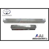 Posapies Cromados / Toyota Fortuner