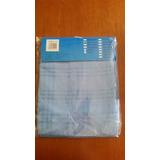 Mantel Tela De Lujo Mesa Cuadrada 150x150 Cm Color Azul