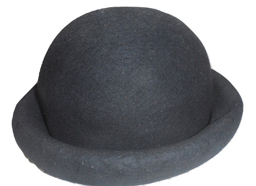 Sombrero Estilo Chaplin O Bombin Azul Marino bc4cf836b79