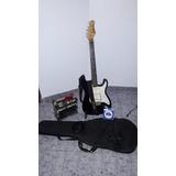 Combo Guitarra Electrica Palmer Deluxe + Amplificador Staner