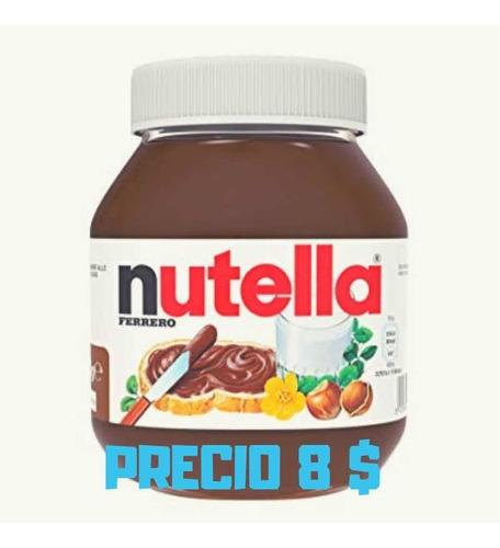 Remate Nutella En 8 Vds