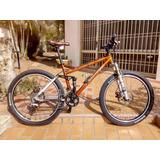 Bicicleta Turner Talla M Cuadro Anodizado Excelente 650t