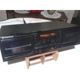 Deck Doble Cassette Digital Pioneer Ct-w505r,optimo 100%...!
