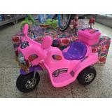 Moto Motocicleta Eléctrica A Batería Juguete Niñas Niños New