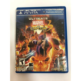 Juego Ultimate Marvel Va Capcom 3 Play Ps Vita Original
