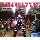 Robot Led  Co2  Discplay Dj Orquesta Sonido Show Hora Loca