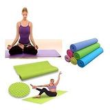 Alfombra De Yoga Mat  Fitness Pilates Ejercicios