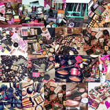 Combo De Maquillaje, Cover Girls, Mac Clinique 100 Productos