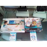 Nintendo Wii U Deluxe  Set De 32gb + Balance Board Usado