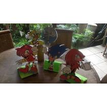 Muñecos En Anime Sonic, Mickey, Winnie Pooh