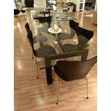 Mesa Comedor Moderna - Tienda Abstracta - Nueva En Empaque