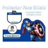 Máscara Protectora Facial Careta Faceshield Face Shield Niño