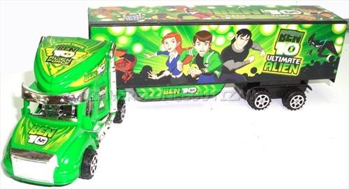 camion plastico juguete para ni os ben 10 gandola bs vffey precio d venezuela. Black Bedroom Furniture Sets. Home Design Ideas