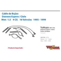 Cable Bujias Daewoo Espero/cielo 4cil Mot2.0 95-99 16val